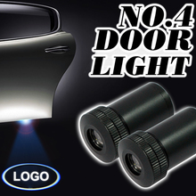 High Power 12V 5W LED Car Door Logo Laser Projector Lamp Ultimate Ghost Shadow Welcome Light