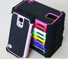 Easy Installation Shockproof Hard PC Soft Silicone Case For Samsung Galaxy S5 Neo