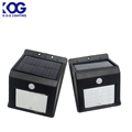 Solar powered LED home emergency wall light security PIR motion home light