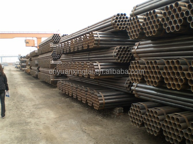 Q345B <strong>Q195</strong> hollow section carbon mild steel pipes with low price