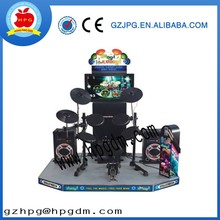 factory promotion Coin operated Jazz drum game machine for sale,arcade drum game machine