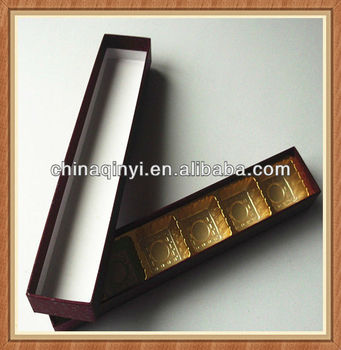 High class packaging box for chocolate, decorative gift box
