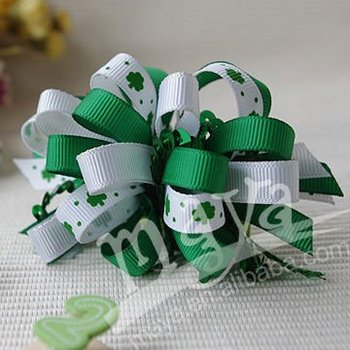 St. Patrick's Day Hair Bow MYSD-010