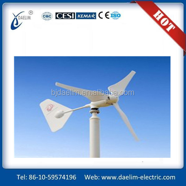 Blades diameter 2 meter wind turbine for home use