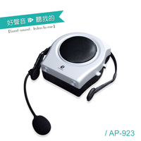 mini sound box bus portable waistband amplifier with microphone