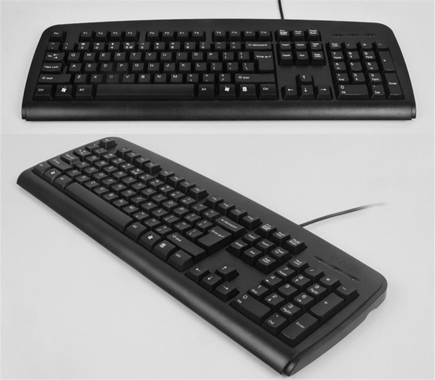 USB Wired Computer Keyboard PC Gaming Keyboards Ergonomic Design Waterproof Keyboard For Desktop Laptop MK1773
