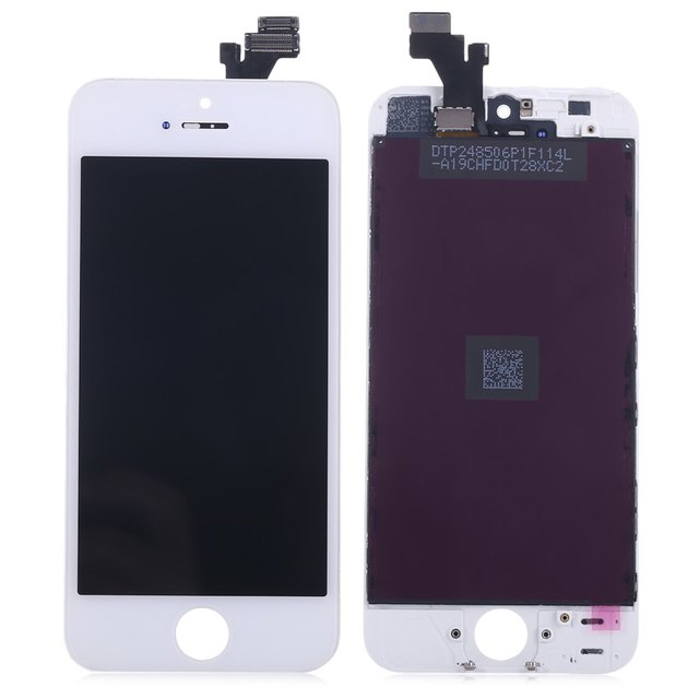 Mobile Phone LCDs for iPhone 5 / 5s Assembly + Touch Glass Digitizer Phone Repair Tool Set LCD Display Touch Digitizer Screens