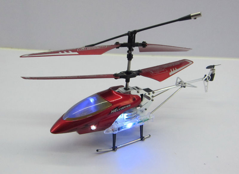 3 CHANNEL mini RC plane with flashing light gyro