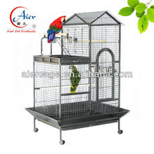 Factory large parrot house on sale Double Roof Playtop