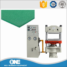 High efficient rubber floor tile daylight hydraulic press / Rubber compression molding machine