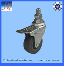 Best quality hotsell side mount small swivel caster