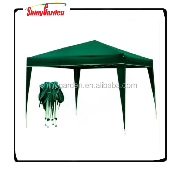 10'x10' outdoor cheap easy up gazebo, portable steel folding pop-up gazebo