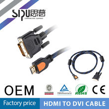 SIPU high quality 1.3V gold plated hdmi cable splitter
