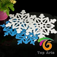 Christmas snowflake foam shapes/foam shapes for craft/foamy shapes