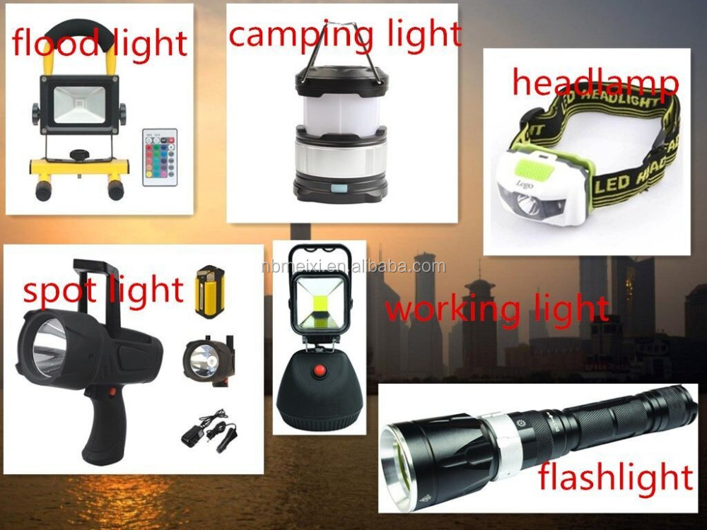 3w cob rechargeable led working light .3W cob +3w led magnetic work light