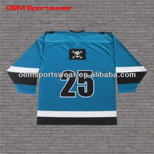 Free design sublimation ice hockey equipment and jersey wholesale