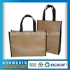 Modern Hot Sale New Fashion PP wine non woven bag jute woven shopping bag