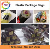 eco-friendly food grades OPP plastic packing bags for cookies and candies
