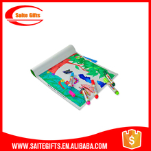 Promotional Educationa Paper Color Painting Coloring Book for sale