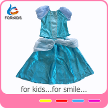 Blue kids costumes fancy dress costumes wholesalers rental costumes,beauty princess role paly party dress