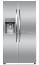 high end silver cheap double sided refrigerator
