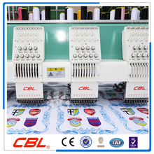 Factory price 9 needles 10 head flat embroidery machine