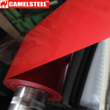 camelsteel Color Coated galvanized Steel Various color painting ppgi sheet used for prefab house metal material