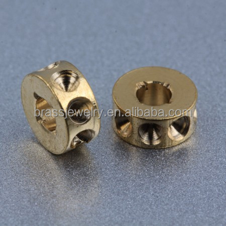 High Quality Fashion Designs Lathe Brass Beads for Saree Blouse Accessories