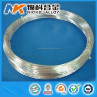 High conductivity electrical contact material 99.9% pure silver wire