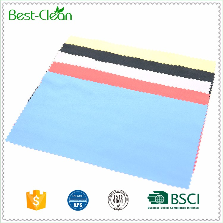 Wholesale Stocked 100% Polyester Microfiber Fabric