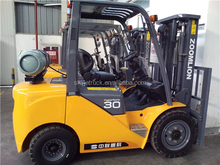 gas/Lpg forklift dual fuel fork lift
