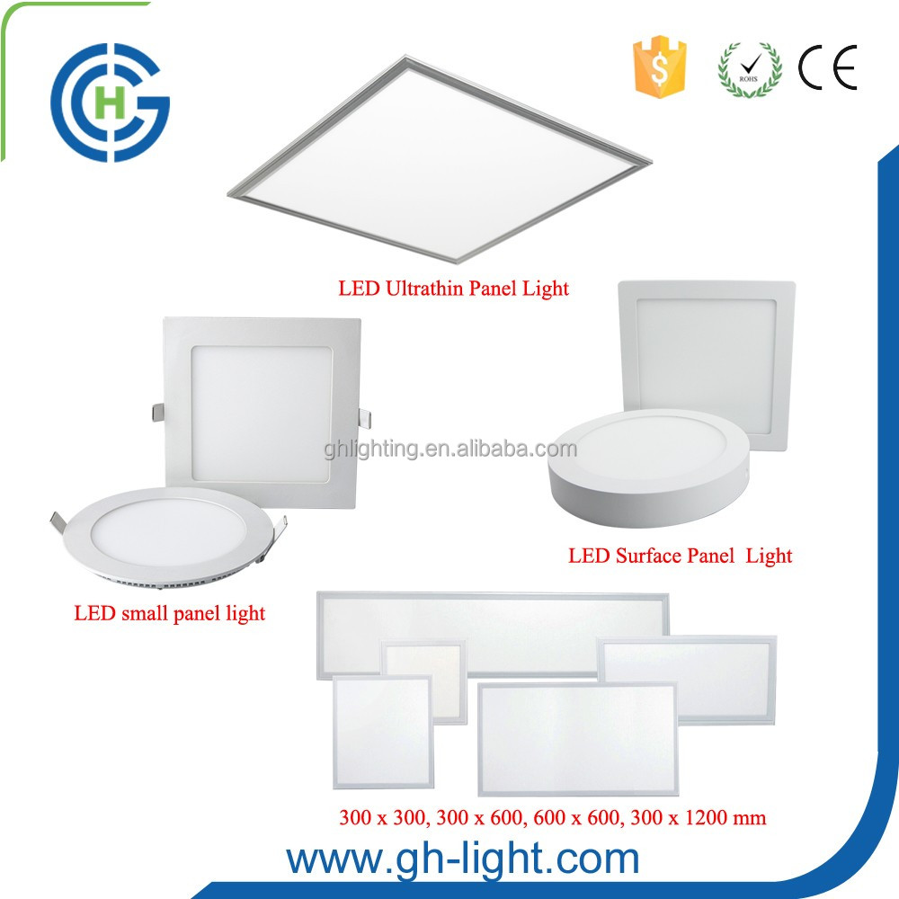China professional manufacturer CE Rohs 3w 4w 6w 9w 12w 15w 18w 24w round ultra thin panel led light