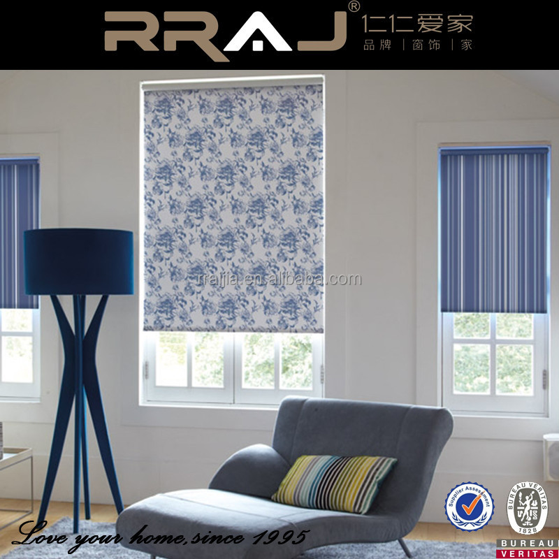 Motorized roll up curtain blinds with standard cord buy for Motorized roll up shades
