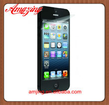 For iPhone 5 Crystal Clear Screen Protector with Factory Wholesale cheap price