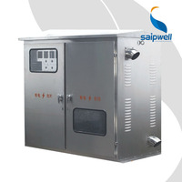 SAIP/SAIPWELL High Quality Metal Outdoor Dustproof Electric Meter Box Cover