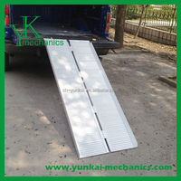 Chinese manufacturing garage car ramp, ramp for disabled wheelchair