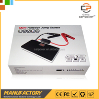 Lithium ion battery jump starter apply to start 5000cc gasoline vehicle