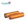 Li-ion 3.7V Colored Battery Electronic Cigarette 20C discharge Ecig Trustfire Imr 14500 battery cycle life more 500 cycles