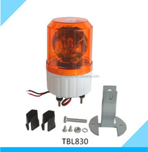 Rotating Beacon Warning Light Halogen Strobe Light with 2 wire connection