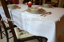 100% cotton restaurant table cloth and cotton hotel table linens