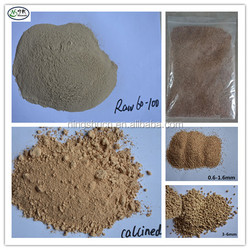 Raw & Calcined Diatomite Diatomaceous Earth Powder and Granular Horticulture Grade Supplier