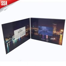 4.3 inch Video brochure /Video greeting Card/LCD blue book