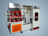 Single Head Cable Making Equipment Fine Wire Drawing Machine with continuous annealer