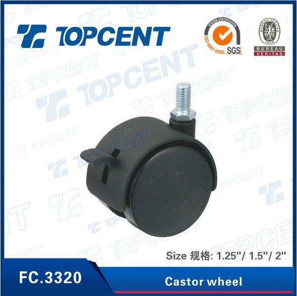 1 inch small furniture caster wheel