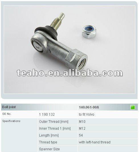 truck ball joint 1190132 Volvo