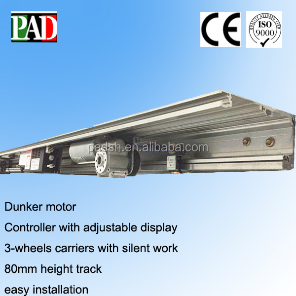PAD automatic door with 100W brushed dunker motor