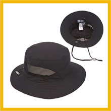 100% Nylon Plain Bucket Hat+String