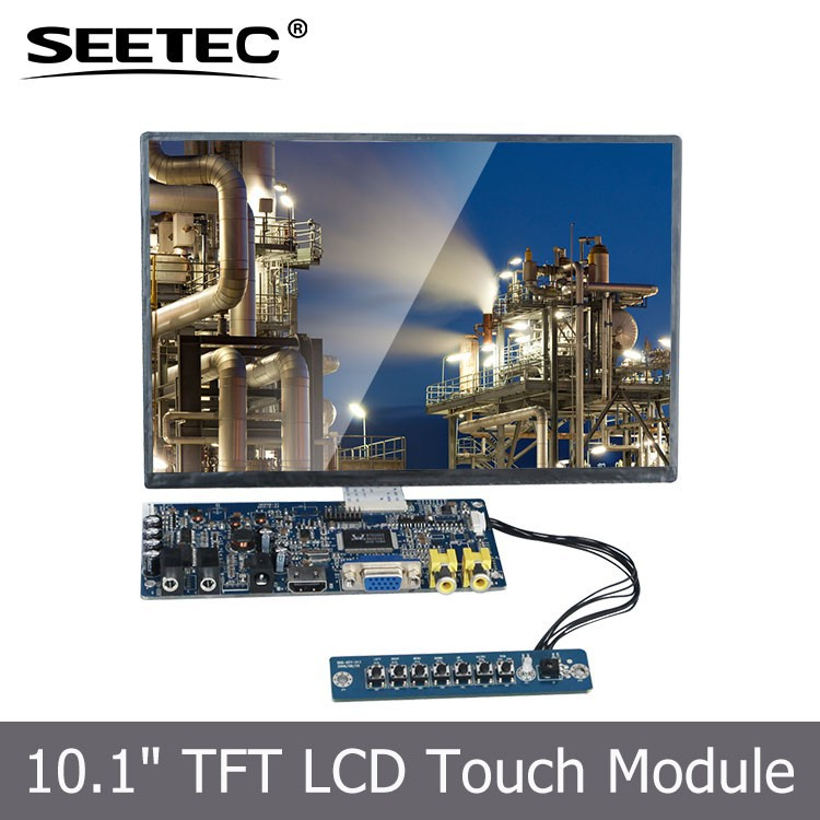 4 wire resistive touch tft lcd display monitor skd module industrial control 10.1 lcd screen