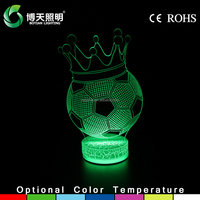 2016 new promotional led lamp,new arrival 3d led table light