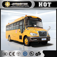 Yellow school bus dimensions 7m 37 seats Yutong Luxury coach bus